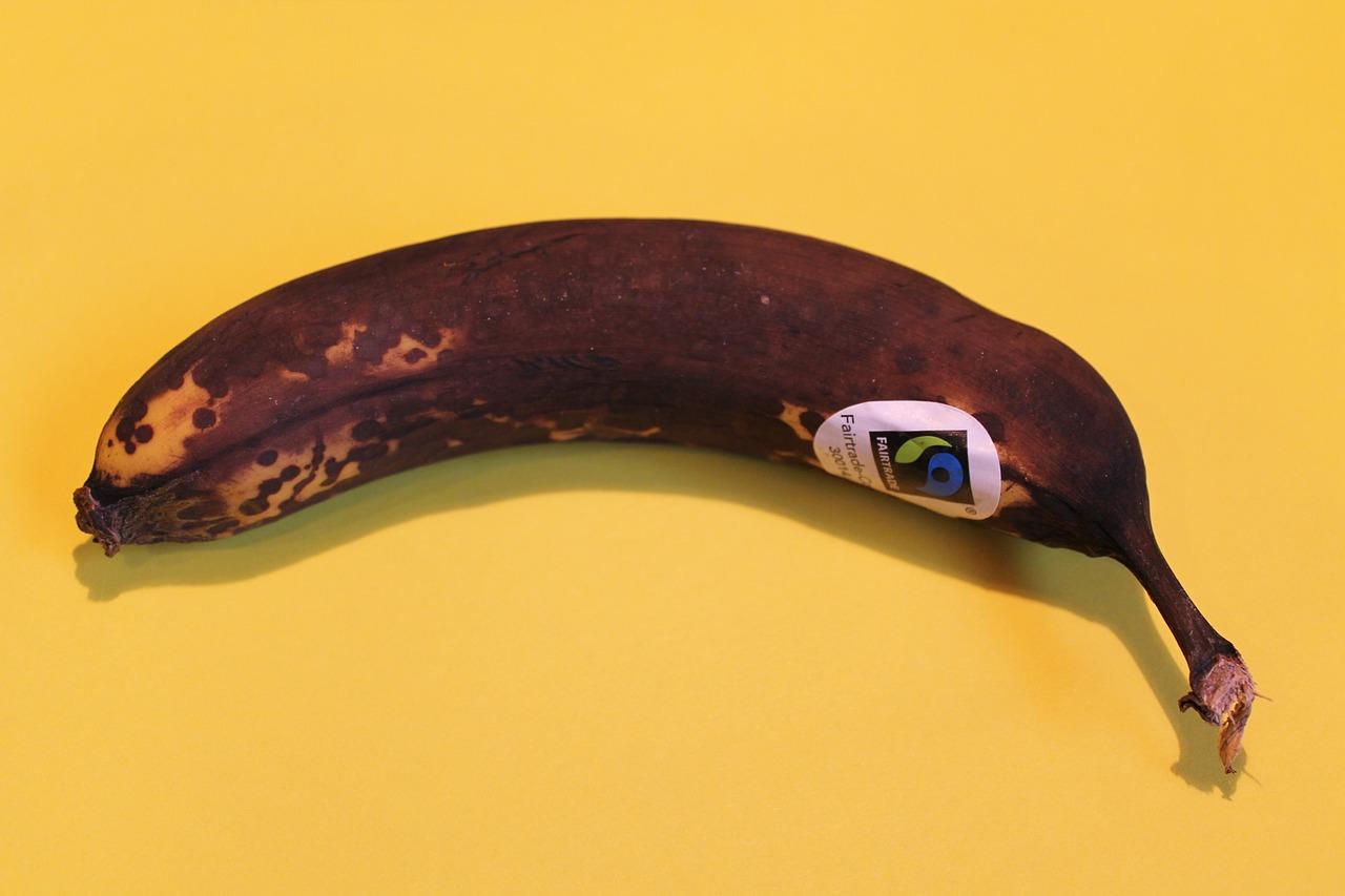 Braune Banane