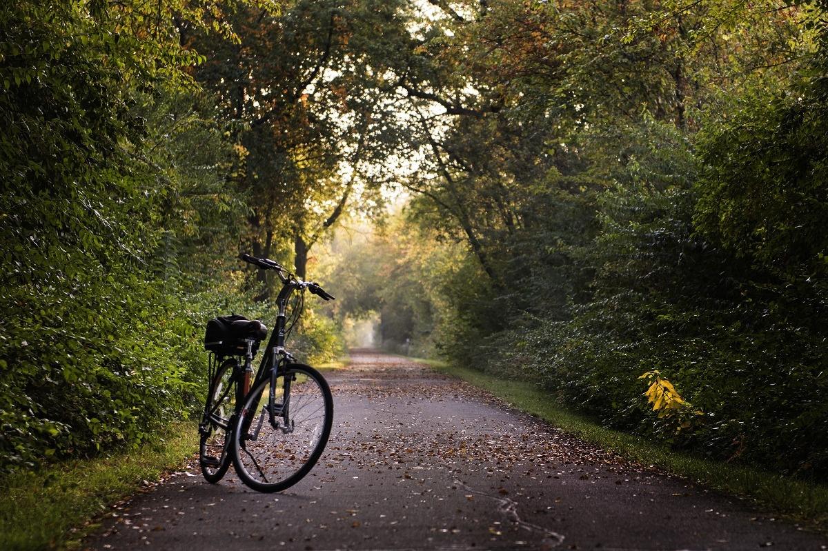 Ohne Auto auf dem Land: mit dem Fahrrad