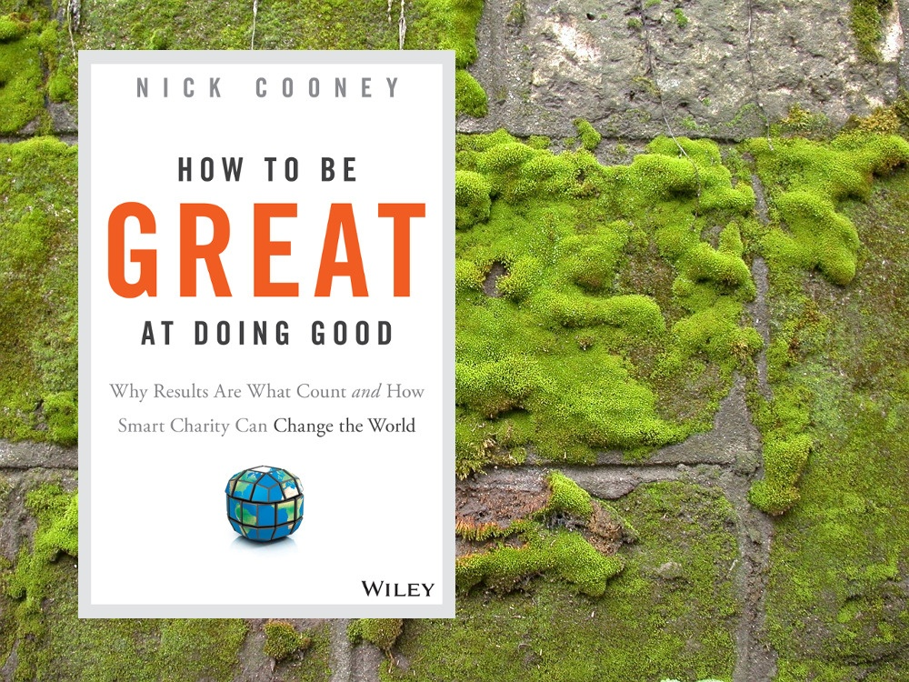 """How to be Great at Doing Good"" - effektiv Gutes tun"